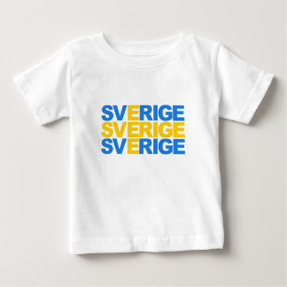 Sverige Baby T-Shirt