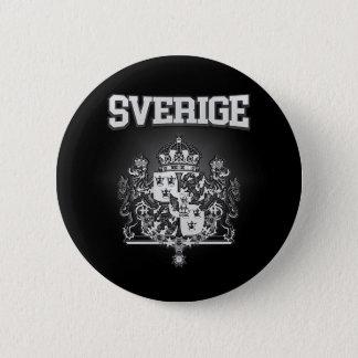 Sverige  Emblem 6 Cm Round Badge