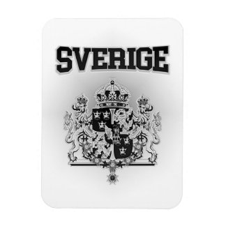Sverige  Emblem Rectangular Photo Magnet
