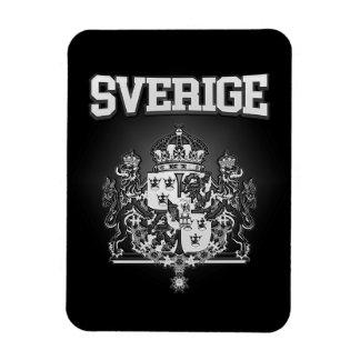 Sverige  Emblem Rectangular Photo Magnet