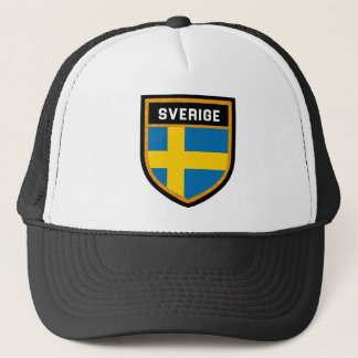 Sverige Flag Trucker Hat
