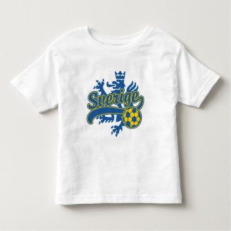 Sverige Soccer Toddler T-Shirt