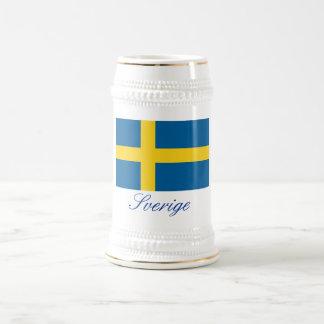SVERIGE (Sweden) Beer Stein