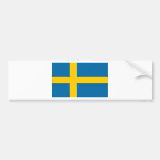 Sveriges Flagga - Flag of Sweden - Swedish Flag Bumper Sticker