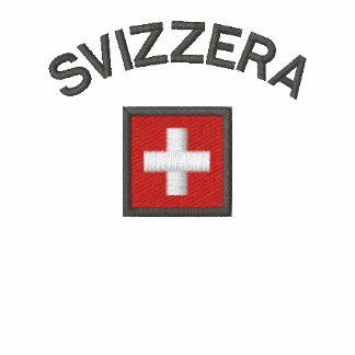 Svizzera Ladies Polo With Switzerland Pocket Flag