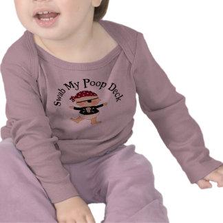 Swab My Poop Deck T-shirts