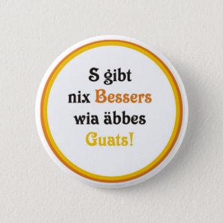 Swabian modest 6 cm round badge