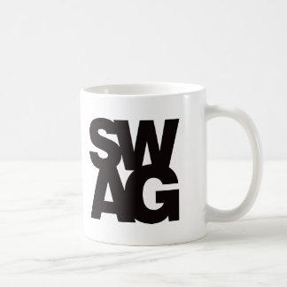 Swag - Black Mugs