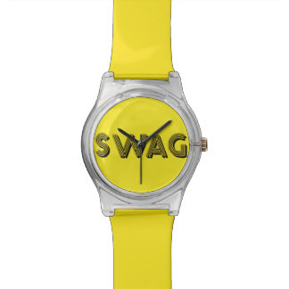 SWAG custom color watches