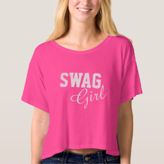 swag girl music dance text message fun sexy T-Shirt