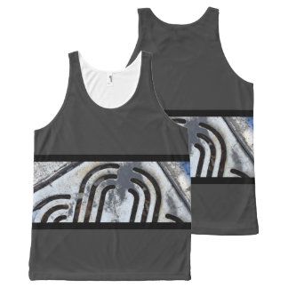 Swag On Fire Black Out Urban Vibe Unisex Tank Top