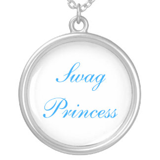 Swag Princess Silver Plated Necklace