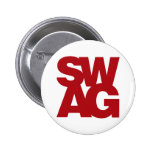 Swag - Red Pinback Buttons