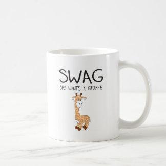 SWAG She Wants A Giraffe Mug