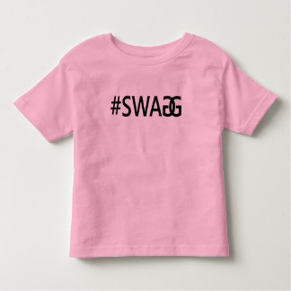 #SWAG / SWAGG Funny Trendy Quotes, Cool Girl's Tee