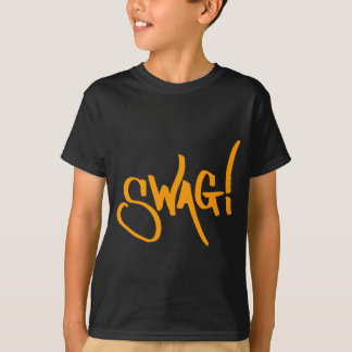 Swag Tag - Orange T-shirt