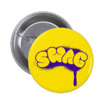 Swag Tag (Yellow/Purple) Button