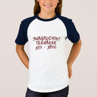 Swagalicious Teenager Tshirt