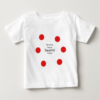 Swahili Language (Kenya, Tanzania, And The Congo) Baby T-Shirt