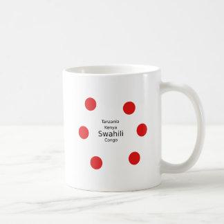 Swahili Language (Kenya, Tanzania, And The Congo) Coffee Mug