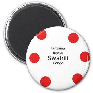 Swahili Language (Kenya, Tanzania, And The Congo) Magnet