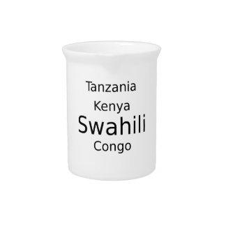 Swahili Language (Kenya, Tanzania, And The Congo) Pitcher