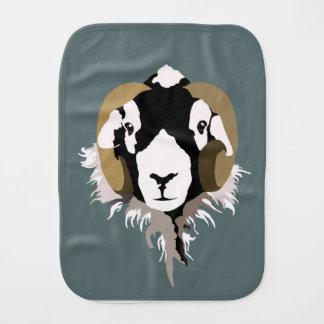 Swaledale Sheep Burp Cloth
