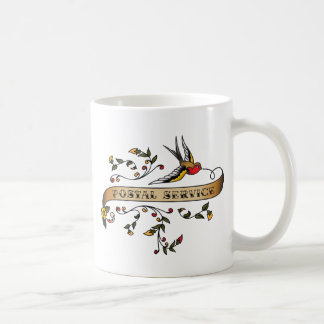 Swallow and Scroll with Postal Service Mug