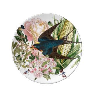 Swallow Heartland Dessert Porcelain Plate