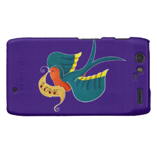 Swallow in Love Motorola Droid RAZR Cases