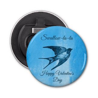 Swallow la-la naughty Valentine's Day Bottle Opener
