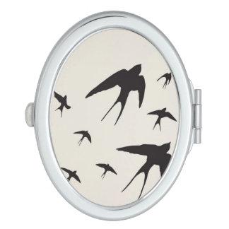 Swallow Makeup Mirror
