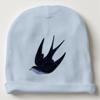 swallow paper cut (free) baby beanie