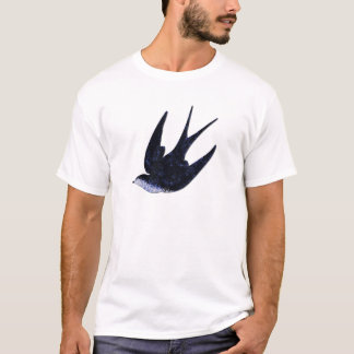 swallow paper cut (free) T-Shirt