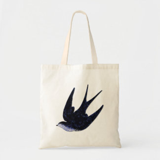 swallow paper cut (free) tote bag