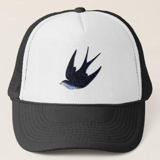 swallow paper cut (free) trucker hat
