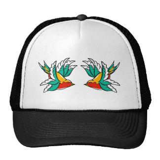 Swallow sailor tattoo inspired design cap