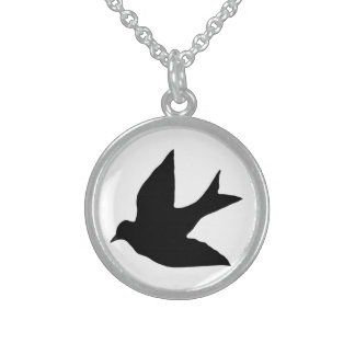 Swallow Sterling Silver Necklace