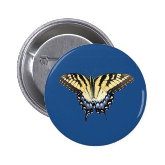 Swallow Tail Butterfly 6 Cm Round Badge