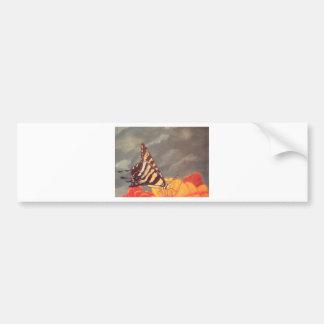 Swallow Tail Butterfly Bumper Sticker