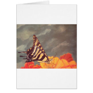 Swallow Tail Butterfly Greeting Card
