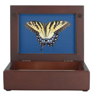 Swallow Tail Butterfly Keepsake Box