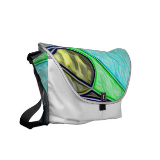 Swallowed,abstract Courier Bag