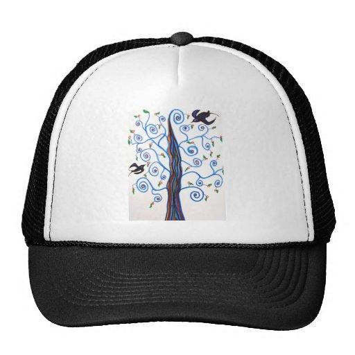 Swallows and the orange tree trucker hats