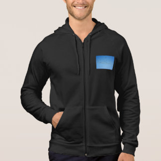 Swallows on wire hoodie