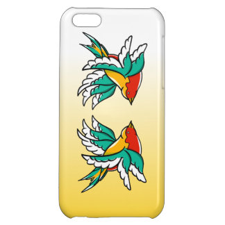 Swallows With Six Wings Funny Illustration iPhone 5C Cases