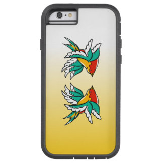 Swallows With Six Wings Funny Illustration Tough Xtreme iPhone 6 Case