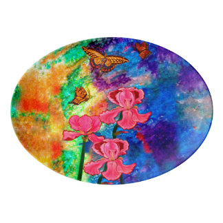 Swallowtail Attraction (Landscape) Serving Platter
