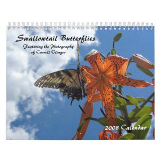Swallowtail Butterflies, 2009 Calendar