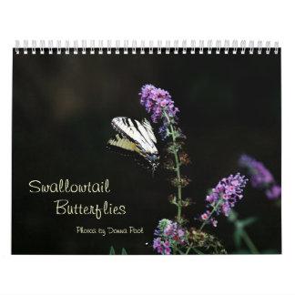 Swallowtail Butterflies Calendar 2014